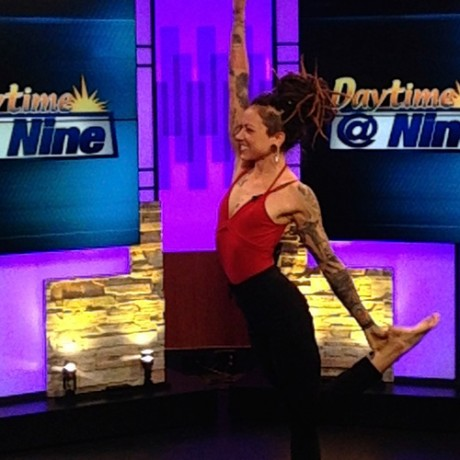 Gianna Purcell, a National USA Yoga Asana Champion, told viewers how yoga rid her of chronic pain and reliance on prescription drugs.
